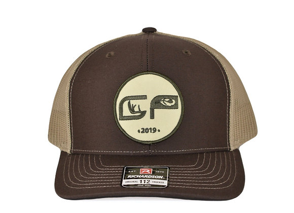 Brown Patch Cap