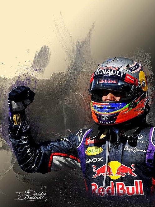 F1 3éme VICTOIRE 2014 Daniel RICCIARDO