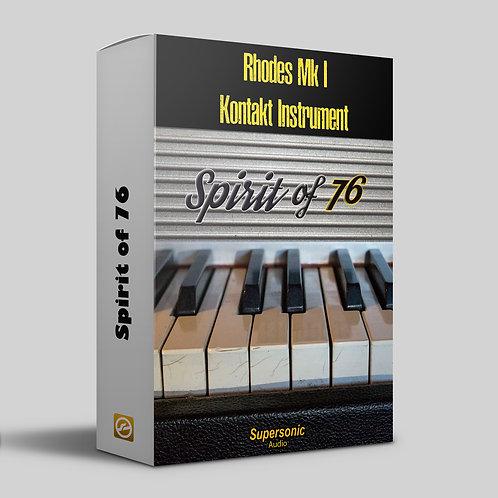 Spirit of 76 Kontakt Instrument