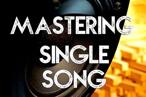 Mastering Single Song