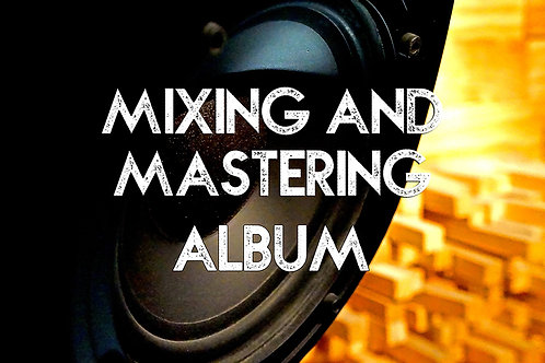 Album Mixing and Mastering-10 Songs