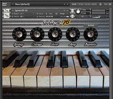 Rhodes Kontakt Instrument-Spirit of 76