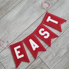 East High Custom Bunting