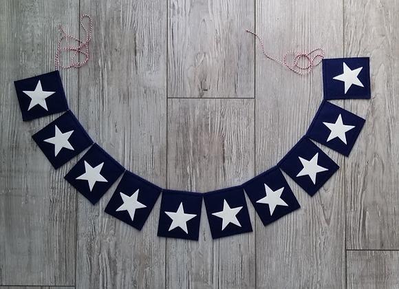 USA 10 STAR Bunting