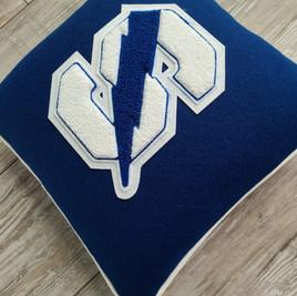 Custom Letteman Pillow