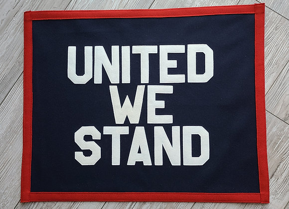 UNITED WE STAND Banner