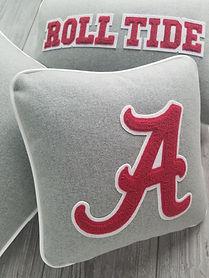 ALABAMA, Crimson Tide, Letterman Pillow, Group, Detail_1.jpg