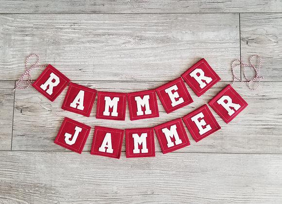 University of Alabama RAMMER JAMMER Bunting