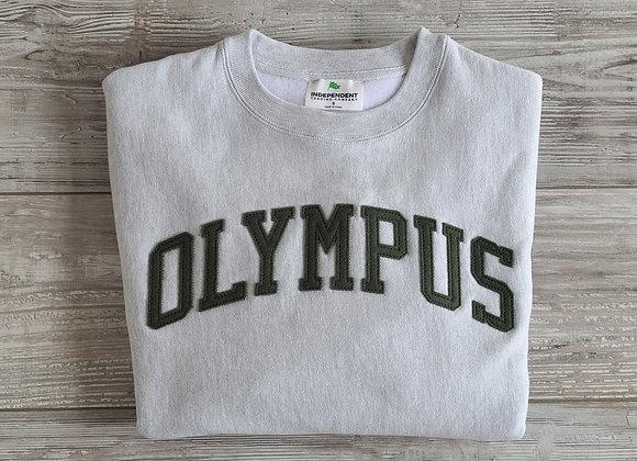 OLYMPUS Letterman Sweatshirt