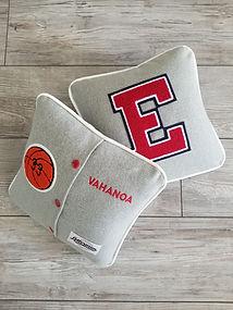 Custom Letterman Pillow, Letterman Pillow, Graduation Gift, Custom Graduation Gift