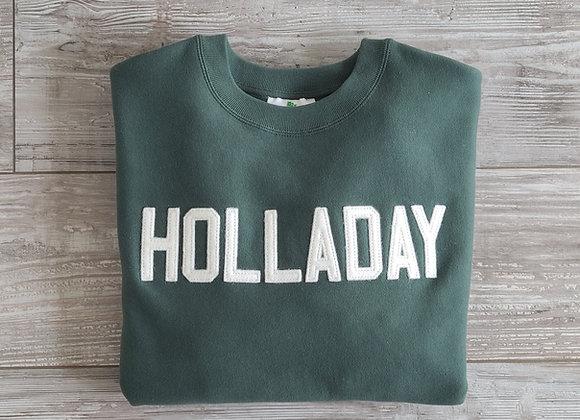 HOLLADAY Letterman Sweatshirt
