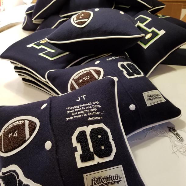 Custome Letterman Pillow Football.jpg