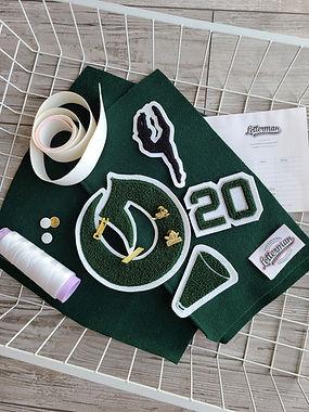 Custom Graduation Gift, Custom Letterman Pillow, Letterman Pillow