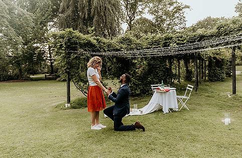 Huwelijksaanzoek Rotterdam