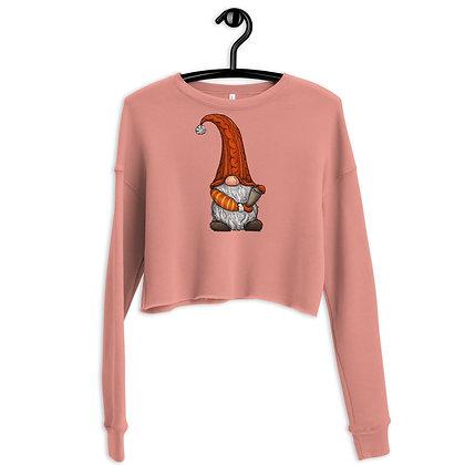 Gnome Crop Sweatshirt