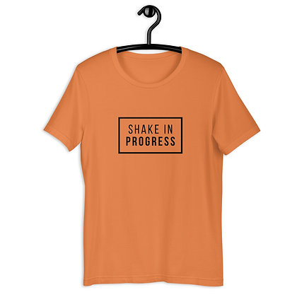 Shake in Progress Short-Sleeve Unisex T-Shirt