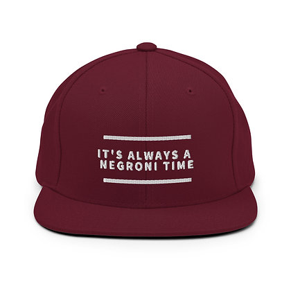 Negroni Snapback Hat