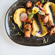BBQ Octopus and Fava