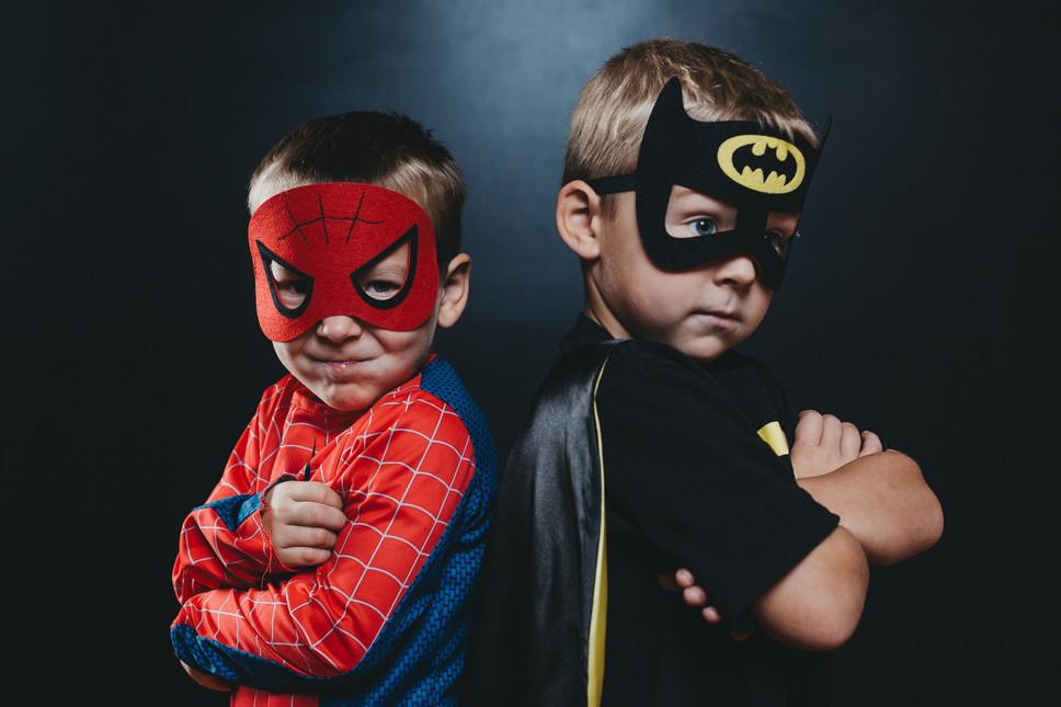 Bat Man and Spider Man