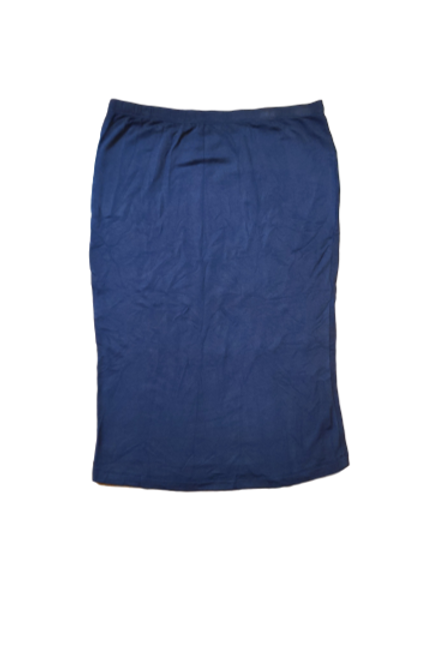 Pencil Skirt in Buttery Soft Navy Blue