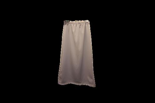 Midi Skirt in Pale Gray