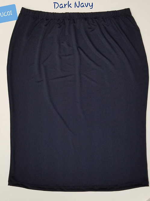 Pencil Skirt Dark Navy