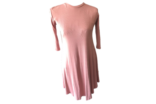 Diana Dress in Rose Pink