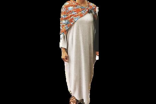 Sherri Kimono in SOFT RIBBED GRAY