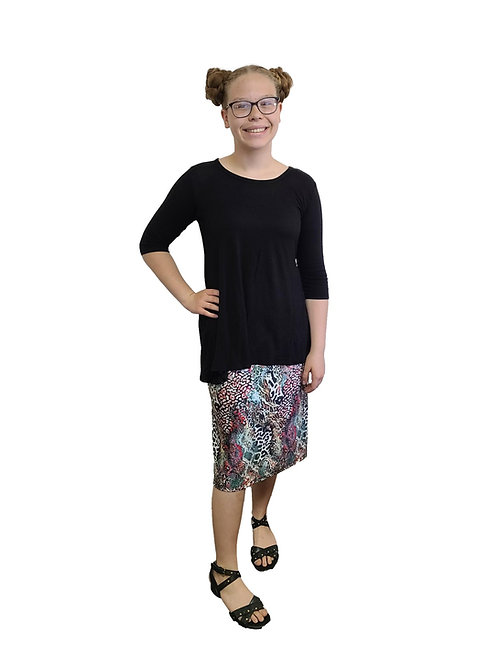 Swim/Sport Skirt Spandex Animal Print