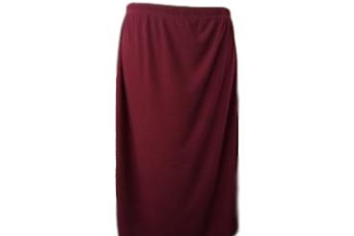 Swim/Sport Skirt in Burgandy