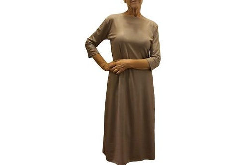 Amy Dress in Taupe ITY