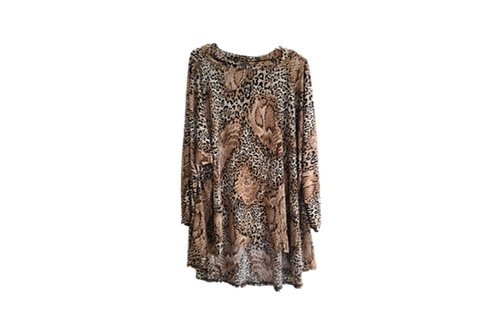 Animal Print ONE OF A KIND top
