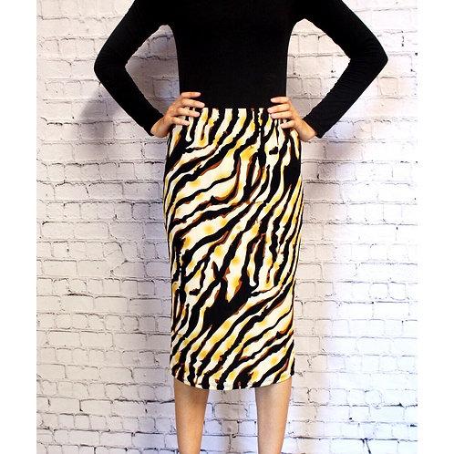 Pencil Skirt Tiger