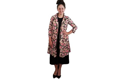 Fiona Jacket/Dress in Roses