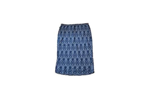 Pencil Skirt Navy Blues Stretch Denim