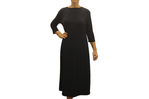 Amy Dress in Black ITY