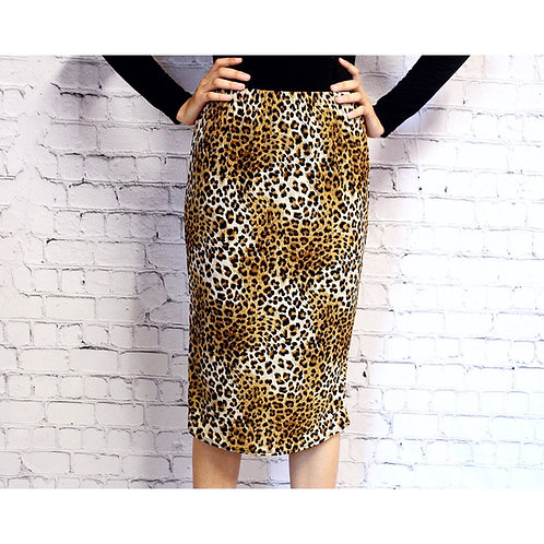 Pencil Skirt in Jaguar