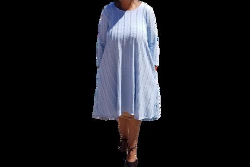 Mini Charlene Baby Blue Ruffle