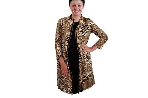 Fiona Jacket/Dress in Soft Cheetah