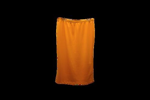 Pencil Skirt in Tangerine