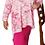 Thumbnail: Brenda Pink Tie Dye Paisley