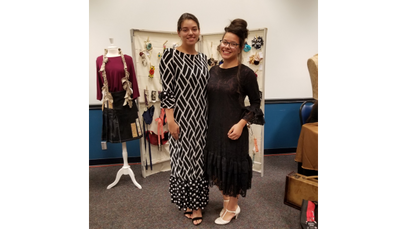 Beautiful Sisters wearing UCOI
