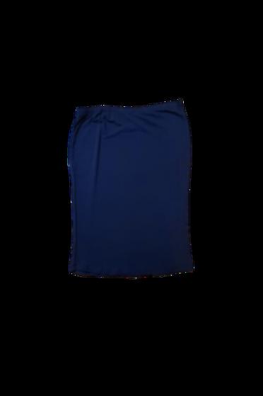 Pencil Skirt Ponte Roma Navy Blue