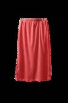 Midi Skirt in Coral