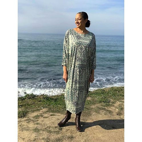 Sherri Kimono Dress in SOFT Sages