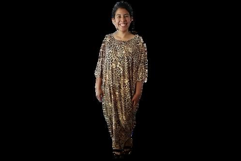 Sherri Kimono in Soft Cheetah