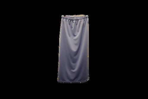 Midi Skirt in Light Gray