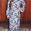 Thumbnail: Patty Dress Navy n White Paisley