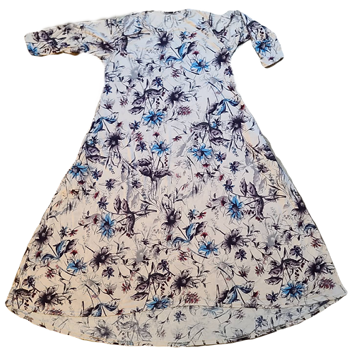 Hiloa W/Pockets Tan Floral