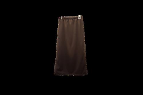 Midi Skirt in Dark Brown